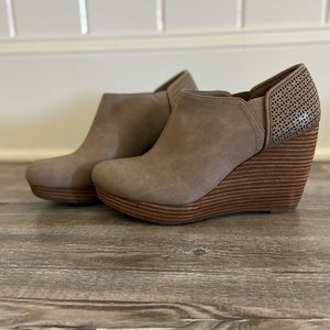Dr. Scholls wedge ankle booties